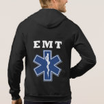 Estrella de EMT de la vida Sudadera Con Capucha