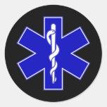 Estrella de EMT del pegatina de la vida