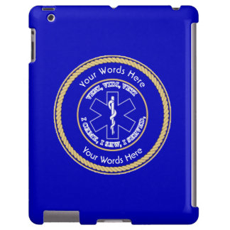 Estrella de EMT del universal del escudo de la Funda Para iPad