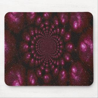 Estrella de estallido púrpura tapete de ratones
