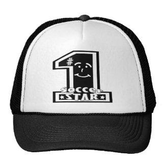Estrella de fútbol 1 gorra
