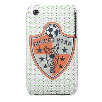 Estrella de fútbol iPhone 3 cárcasas