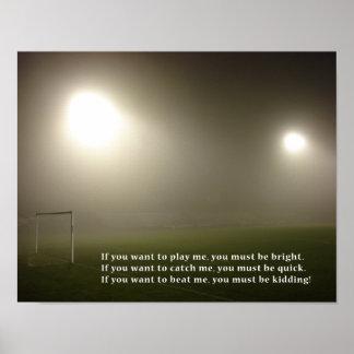 Estrella de fútbol impresiones