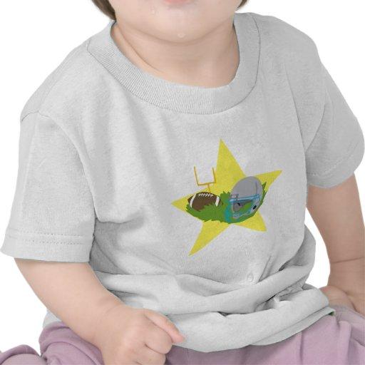 ¡Estrella de fútbol!  Personalizable: Camisetas