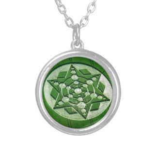 Estrella de giro Wiltshire del círculo de la cosec Collar Personalizado