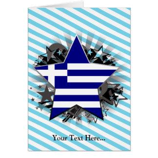 Estrella de Grecia Tarjeta