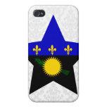 Estrella de Guadalupe iPhone 4 Fundas