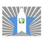 Estrella de Guatemala Tarjeta Postal