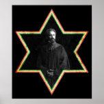 Estrella de Haile Selassie de David Póster
