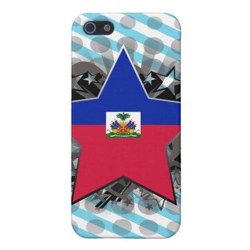 Estrella de Haití iPhone 5 Fundas