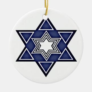 Estrella de Hannukkah de David Adorno Redondo De Cerámica