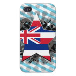 Estrella de Hawaii iPhone 4 Cárcasa