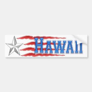Estrella de Hawaii y pegatina para el parachoques  Pegatina Para Auto