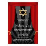 Estrella de Hollywood de las invitaciones de Mitzv Invitaciones Personales