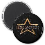 Estrella de Hollywood Imán Para Frigorifico