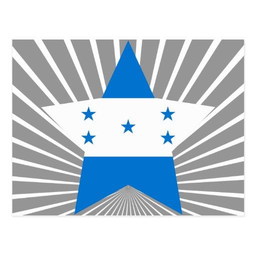 Estrella de Honduras Postales