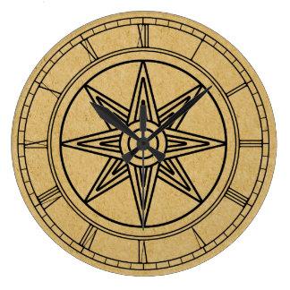 Estrella de Inanna Reloj Redondo Grande