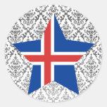 Estrella de Islandia Etiqueta
