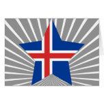 Estrella de Islandia Tarjetón