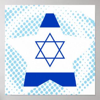 Estrella de Israel Impresiones