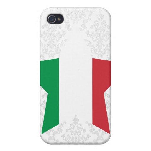 Estrella de Italia iPhone 4/4S Funda