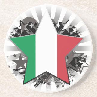 Estrella de Italia Posavasos Personalizados