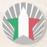Estrella de Italia Posavasos Diseño