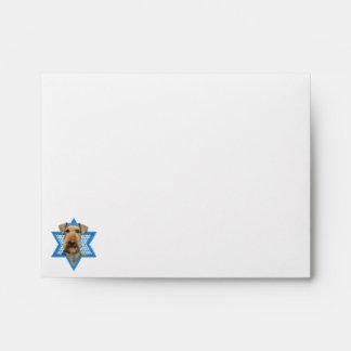 Estrella de Jánuca de David - Airedale Terrier