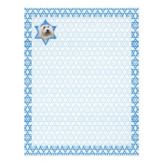Estrella de Jánuca de David - algodón de Tulear Plantillas De Membrete