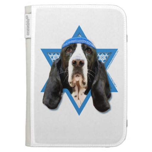 Estrella de Jánuca de David - Basset Hound - jazmí