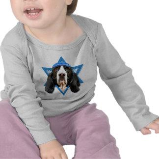 Estrella de Jánuca de David - Basset Hound - jazmí Camiseta