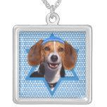 Estrella de Jánuca de David - beagle Colgante Personalizado