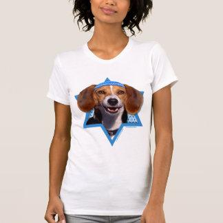 Estrella de Jánuca de David - beagle Camisetas