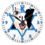 Estrella de Jánuca de David - border collie Relojes