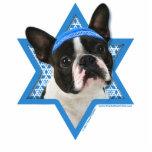 Estrella de Jánuca de David - Boston Terrier Esculturas Fotográficas