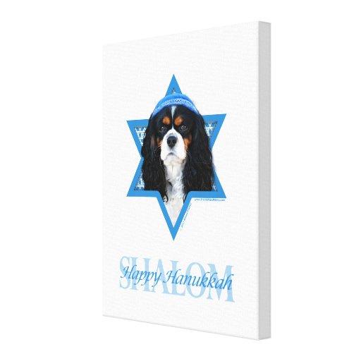 Estrella de Jánuca de David - caballero Impresiones En Lona Estiradas