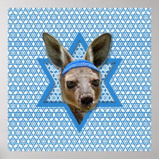 Estrella de Jánuca de David - canguro Impresiones