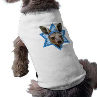 Estrella de Jánuca de David - canguro Camisas De Perritos