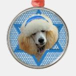 Estrella de Jánuca de David - caniche - albaricoqu Ornamentos Para Reyes Magos