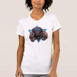 Estrella de Jánuca de David - caniche - Bix Camisetas