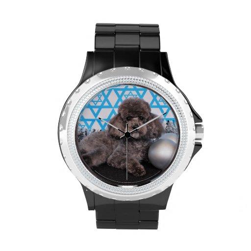 Estrella de Jánuca de David - caniche Reloj De Mano