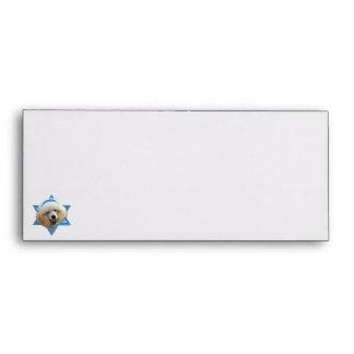 Estrella de Jánuca de David - caniche - Sobres