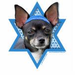 Estrella de Jánuca de David - chihuahua Escultura Fotográfica