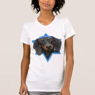 Estrella de Jánuca de David - Dachshund - Winston Camisetas