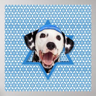 Estrella de Jánuca de David - Dalmatian Impresiones