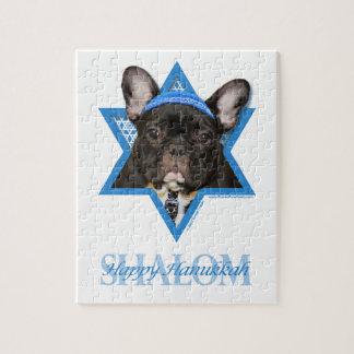 Estrella de Jánuca de David - dogo francés - trull Puzzles