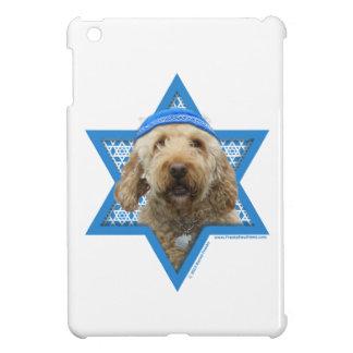 Estrella de Jánuca de David - GoldenDoodle iPad Mini Fundas