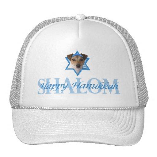 Estrella de Jánuca de David - Jack Russell Terrier Gorros Bordados