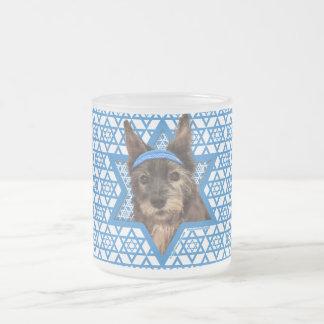 Estrella de Jánuca de David - mojón Terrier - Trix Tazas De Café