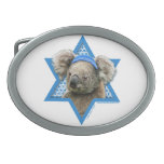 Estrella de Jánuca de David - oso de koala Hebillas Cinturón